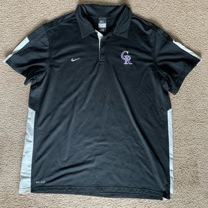 Nike Official Authentic Colorado Rockies Tee